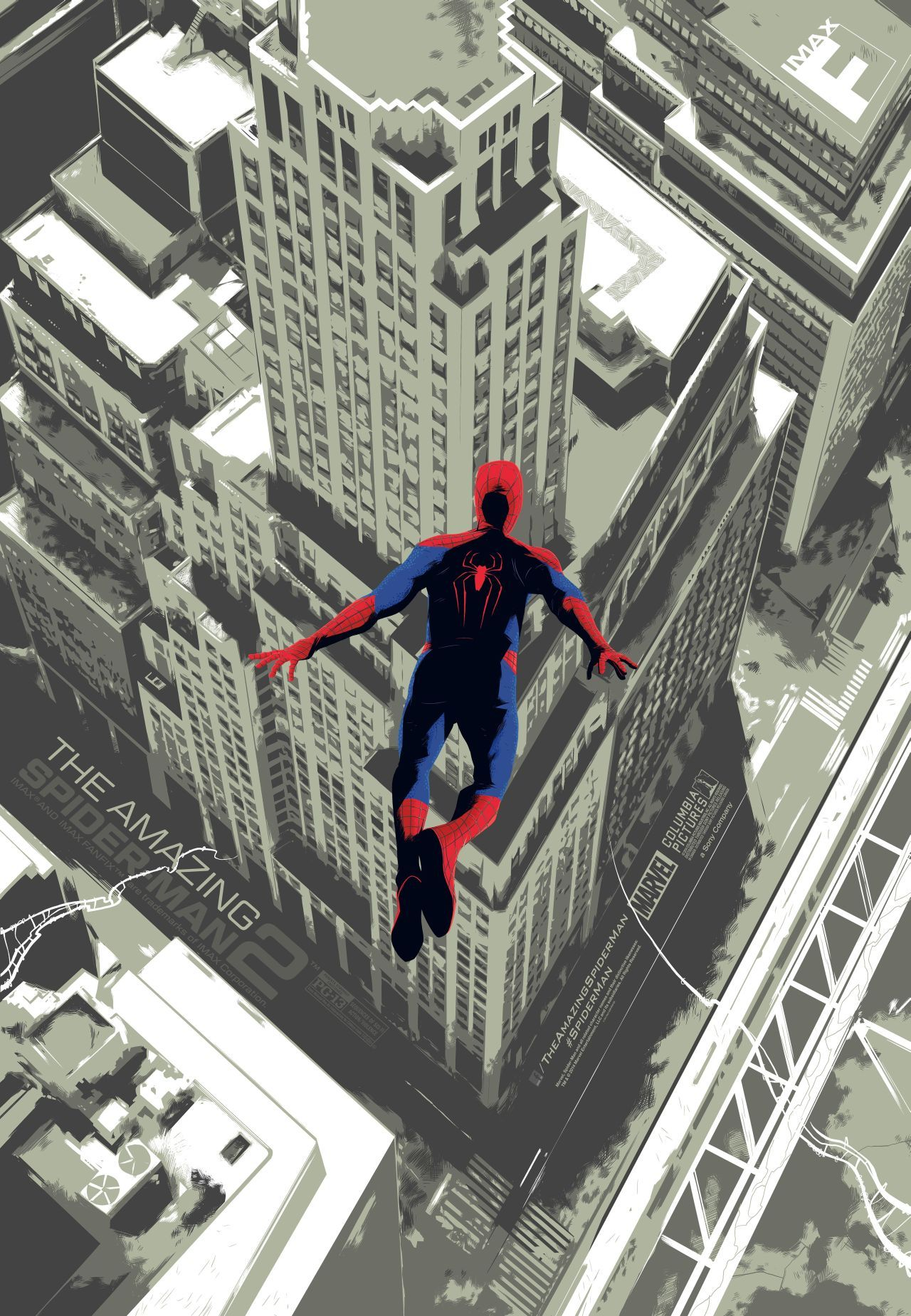 IMAX Poster for The Amazing Spider-Man 2