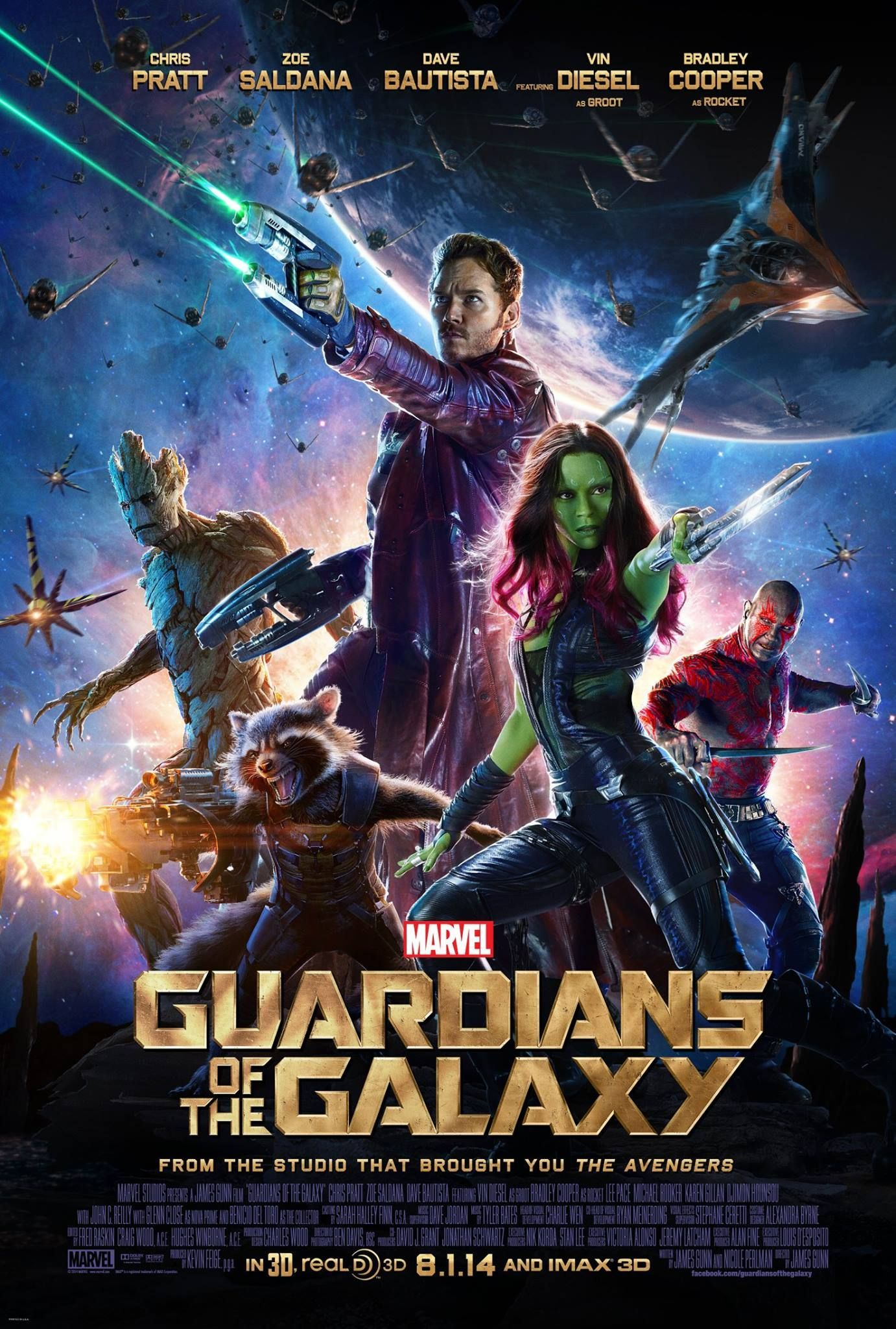 New Poster for Guardians of the Galaxy
