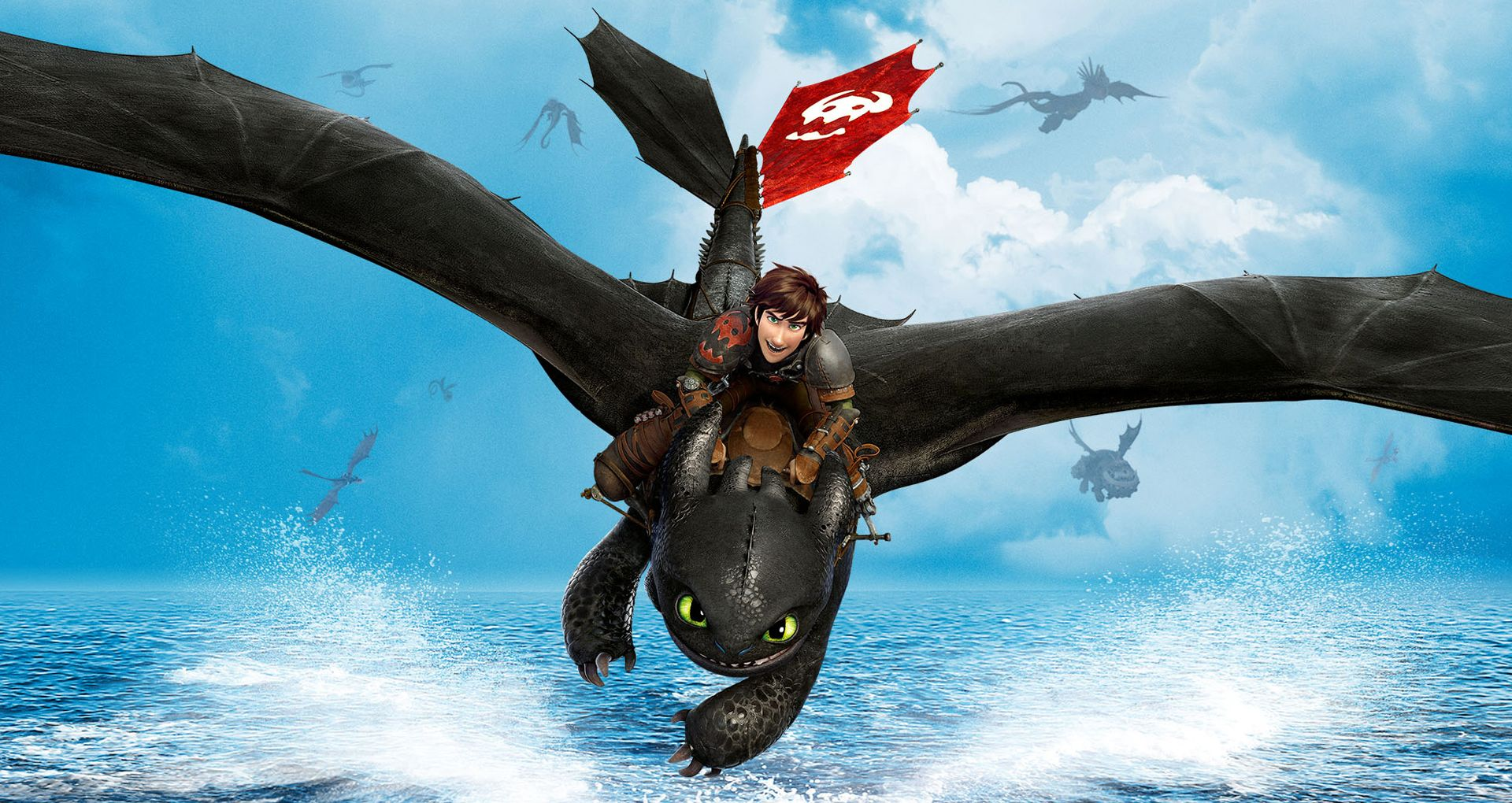 Hiccup and Toothless in their new adventure