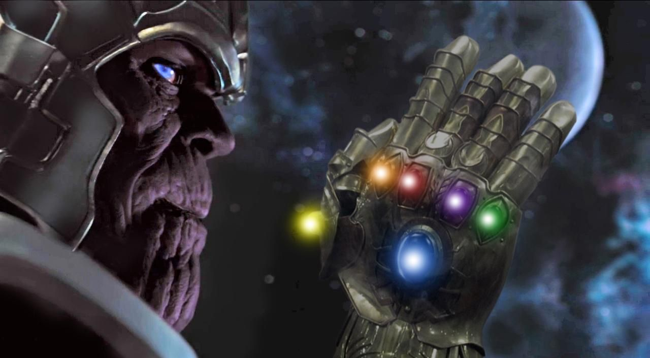 Thanos in the 'Guardians of the Galaxy'