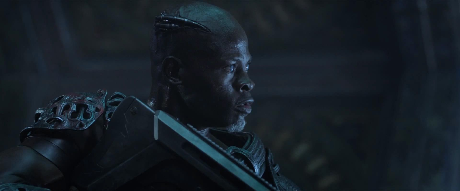 Korath the Pursuer in the 'Guardians of the Galaxy'