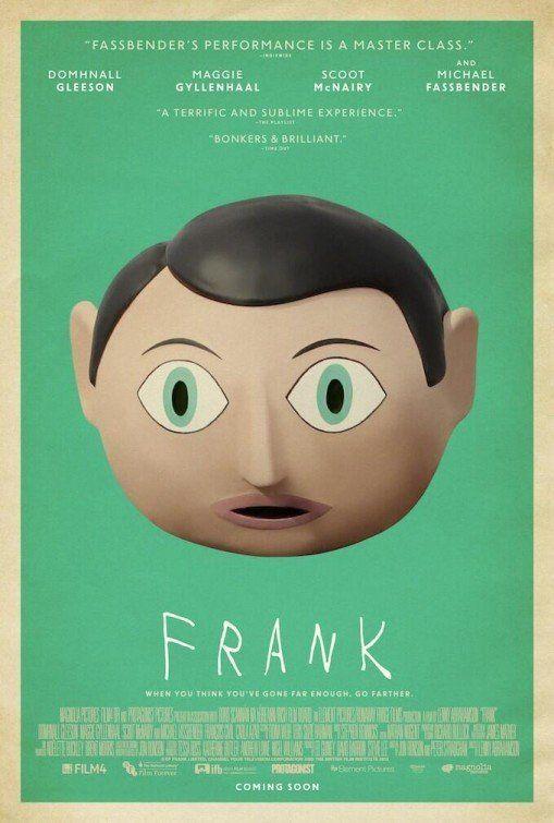 Latest Poster for 'Frank' starring Michael Fassbender