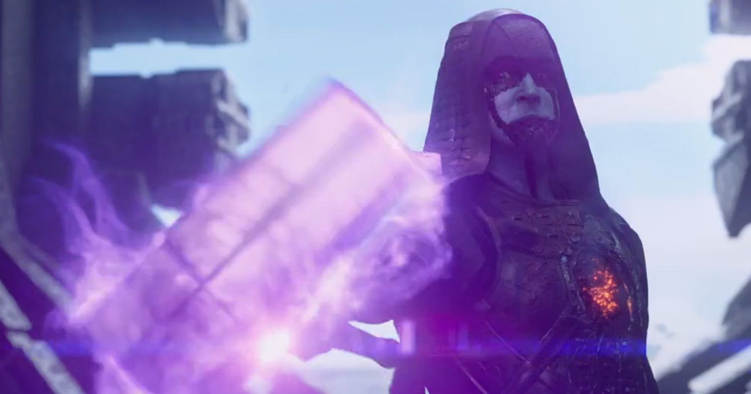 Ronan the Accuser in the 'Guardians of the Galaxy'
