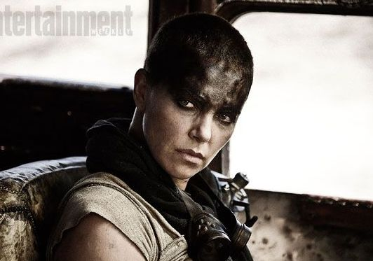 Charlize Theron in post-apocalyptic Mad Max: Fury Road