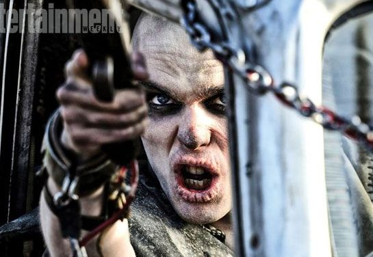 Nicholas Hoult unrecognizable in Mad Max: Fury Road