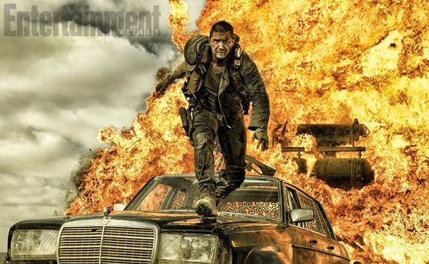 Tom Hardy in George Miller's Mad Max: Fury Road