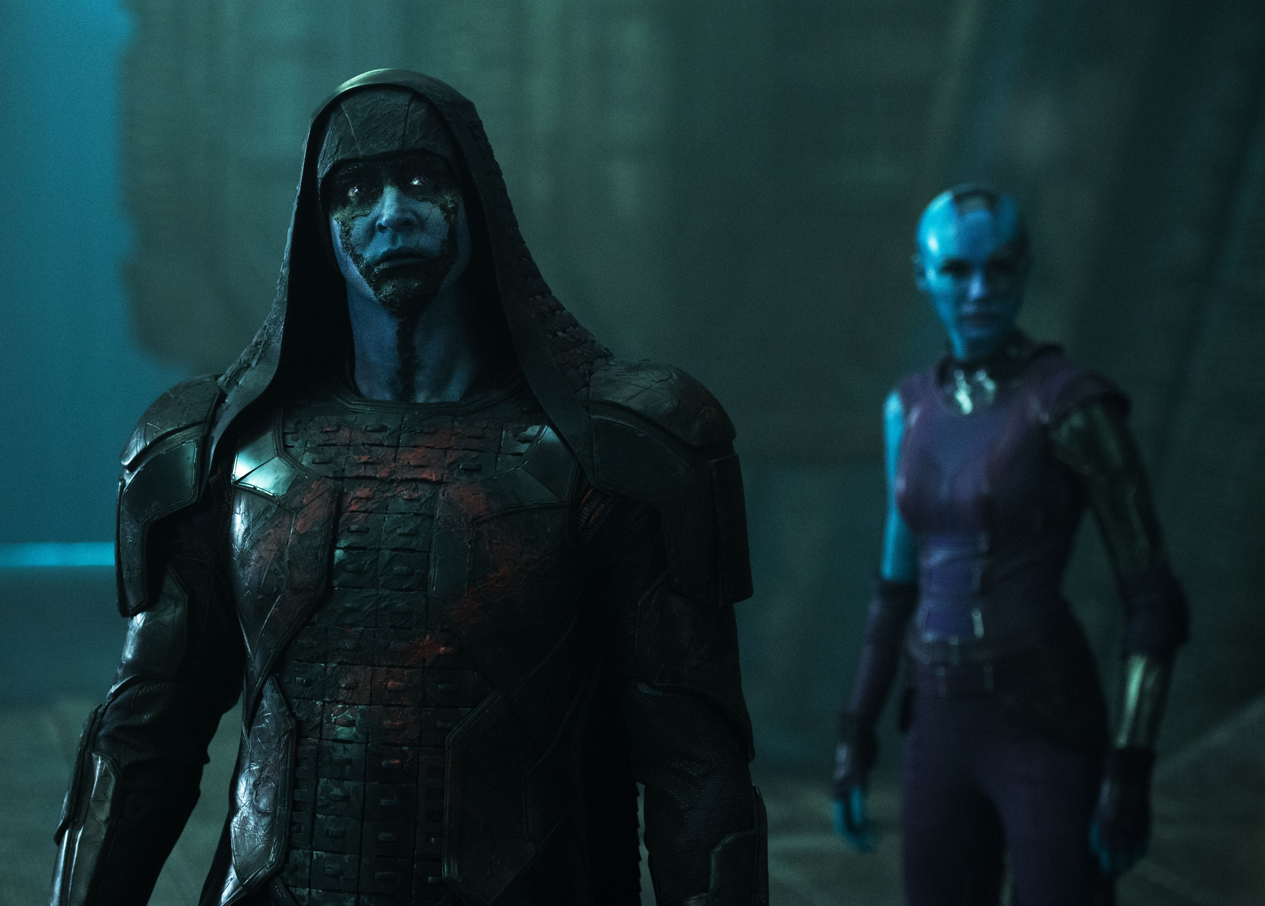 Lee Pace and Karen Gillan, Guardians Of The Galaxy