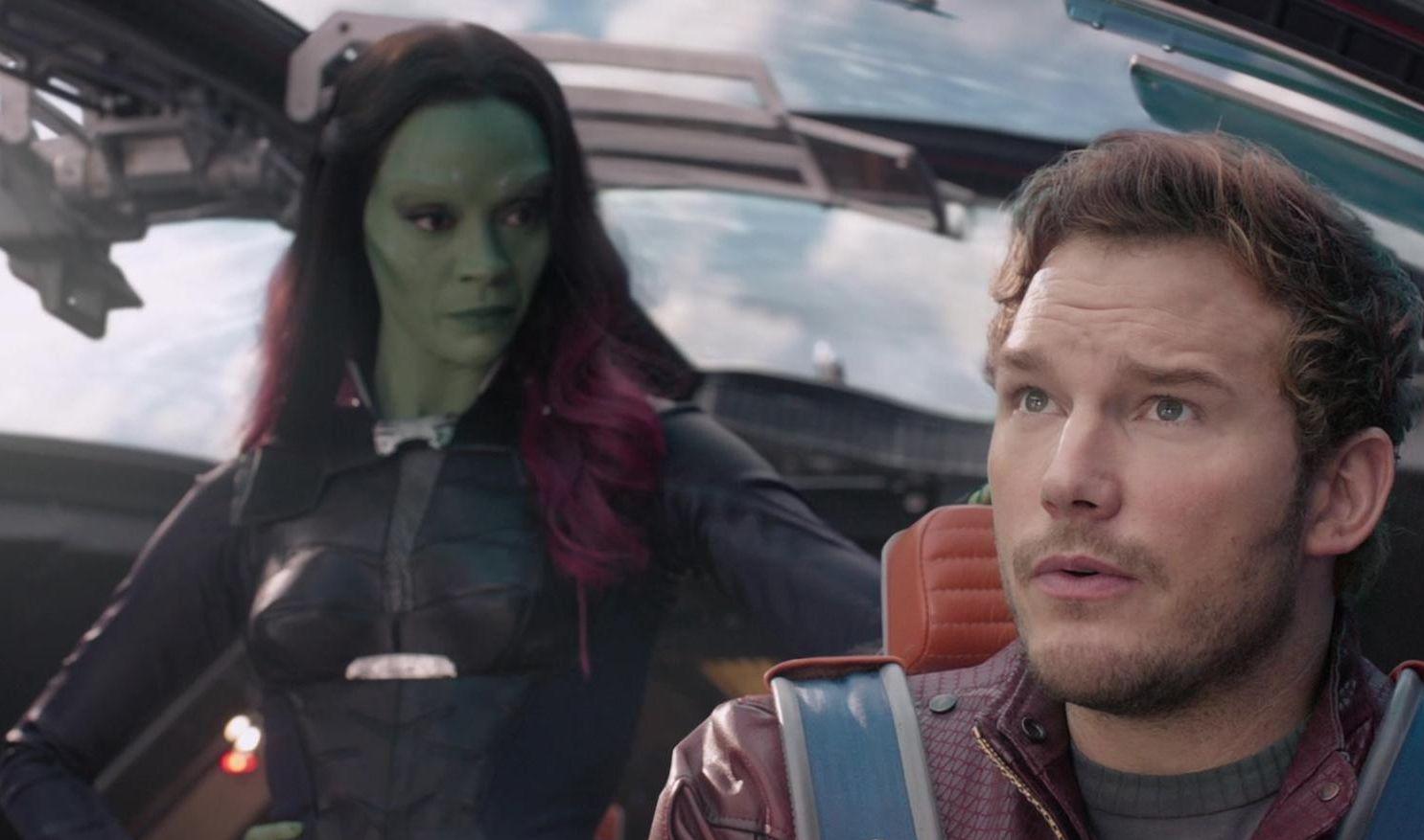 Gamora unimpressed