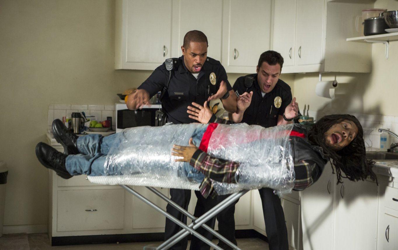 Damon Wayans, Keegan-Michael Key and Jake Johnson in Let's B