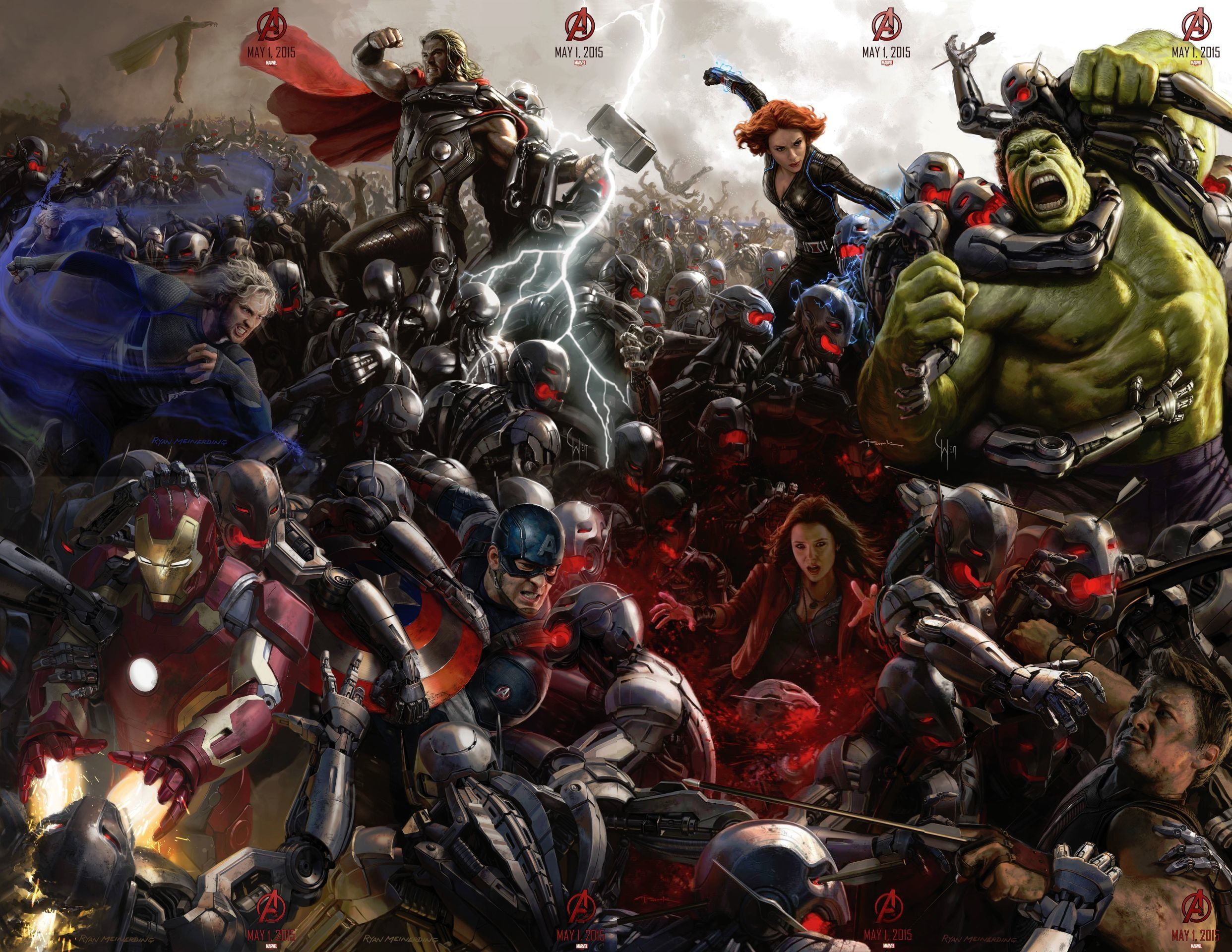 Avengers: Age of Ultron Concept Art Poster Revealed
