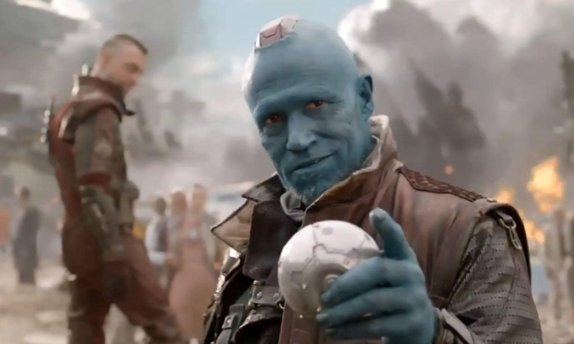 Michael Rooker as Yondu