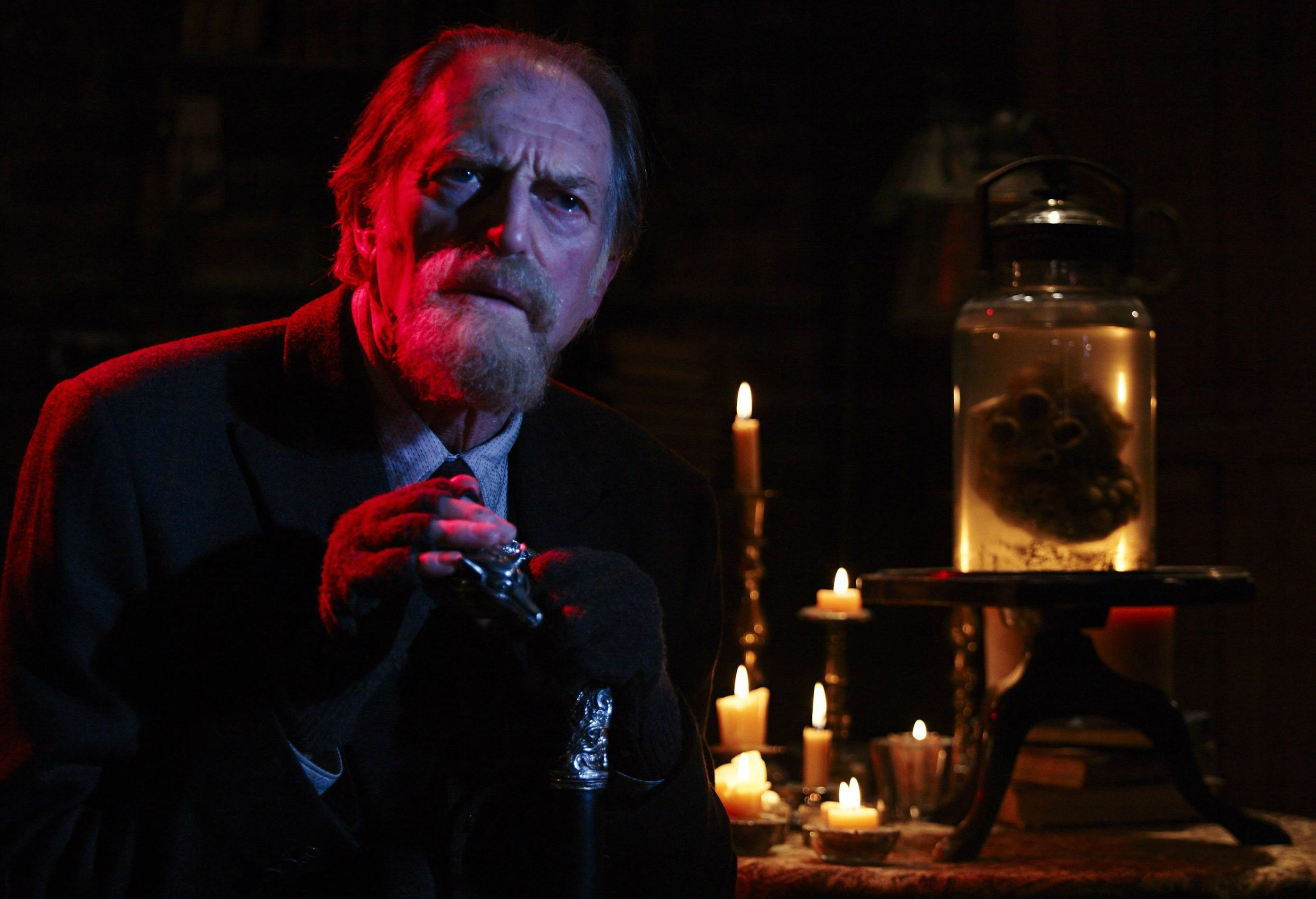 David Bradley as holocaust survivor Abraham Setrakian fighti