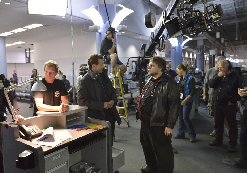 Guillermo Del Toro working on The Strain (TV)