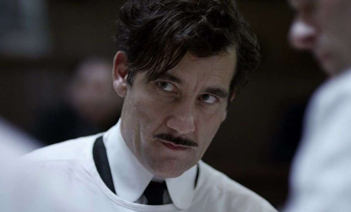 Clive Owen close-up in The Knick