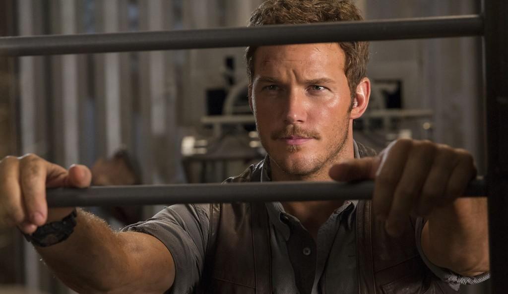 New still of Chris Pratt from Jurassic World