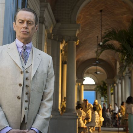 Steve Buscemi as Nucky in the final season of Boardwalk Empi