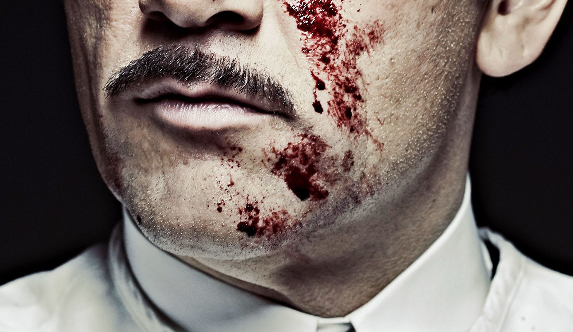 The Knick bloody face poster