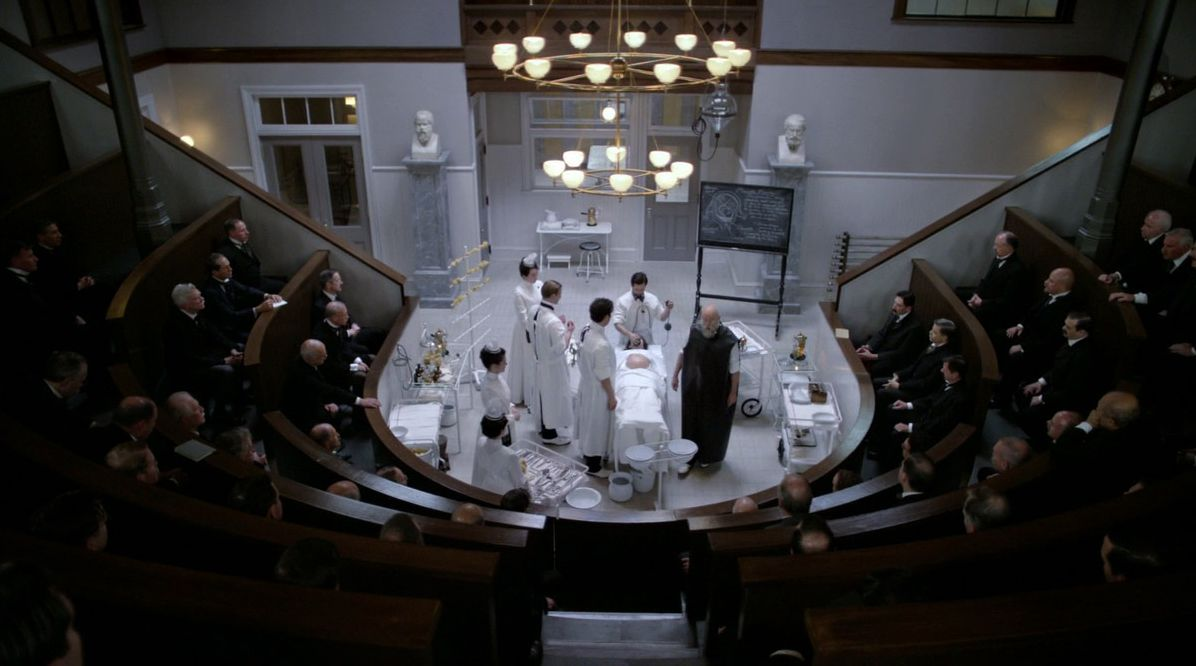 The operating theater in The Knick