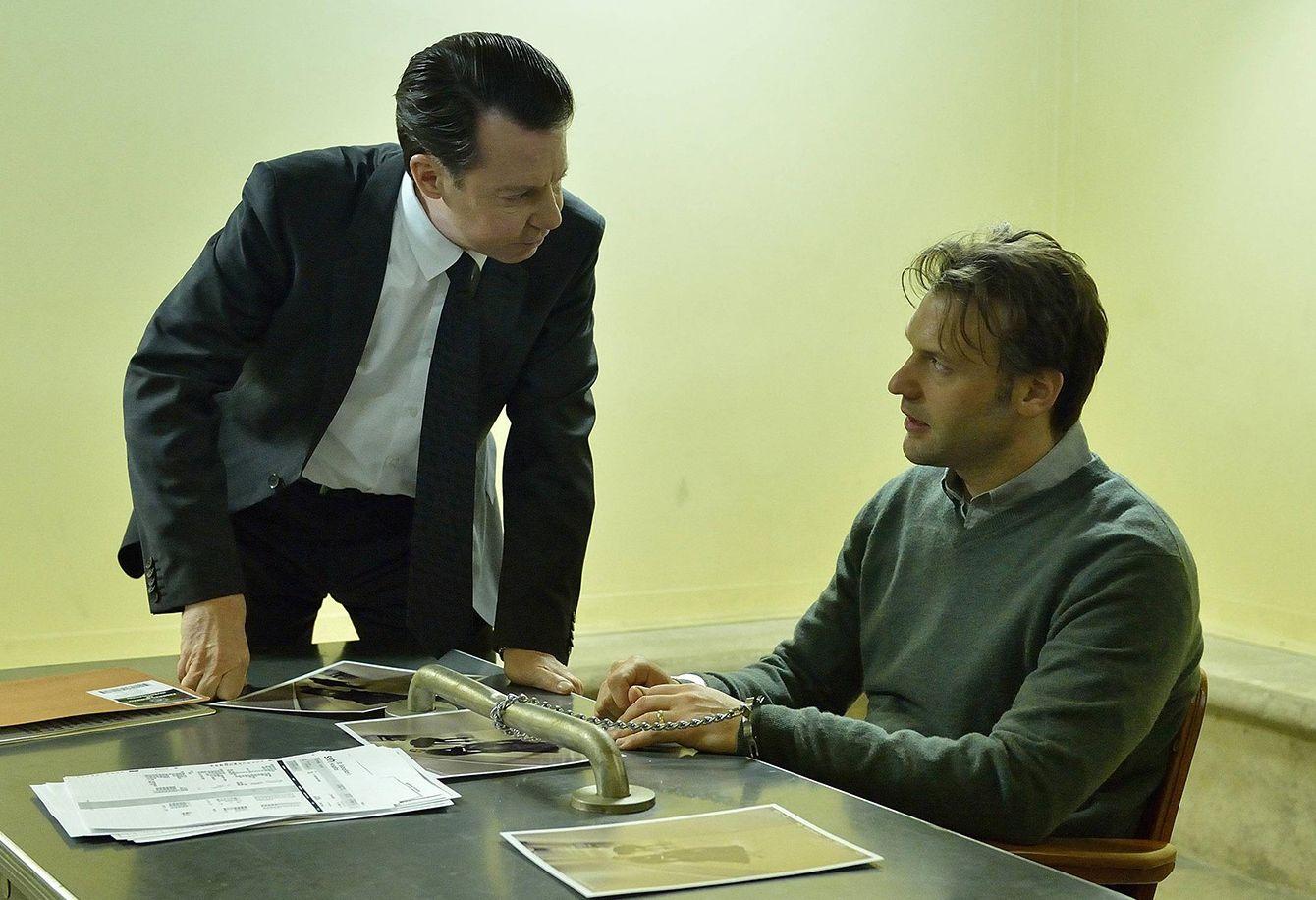 Eph (Corey Stoll) under investigation at the FBI