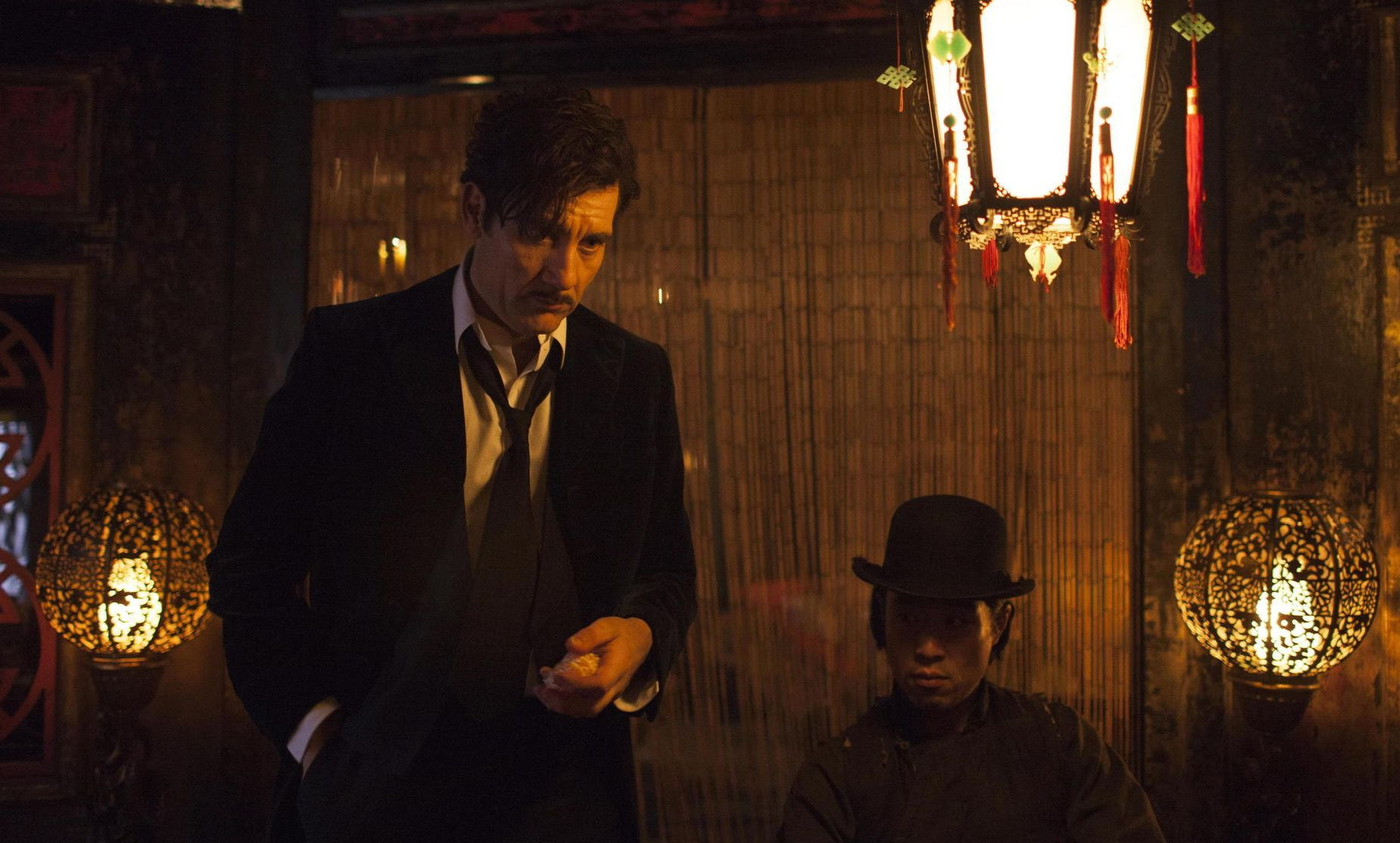 Clive Owen in whorehouse in The Knick