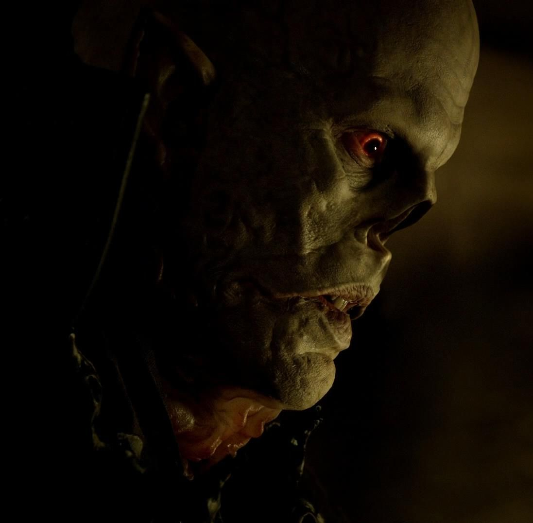Close-up of The Master in The Strain