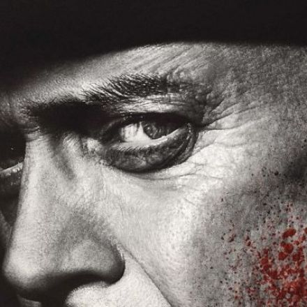 Nucky, bloody face, final season poster