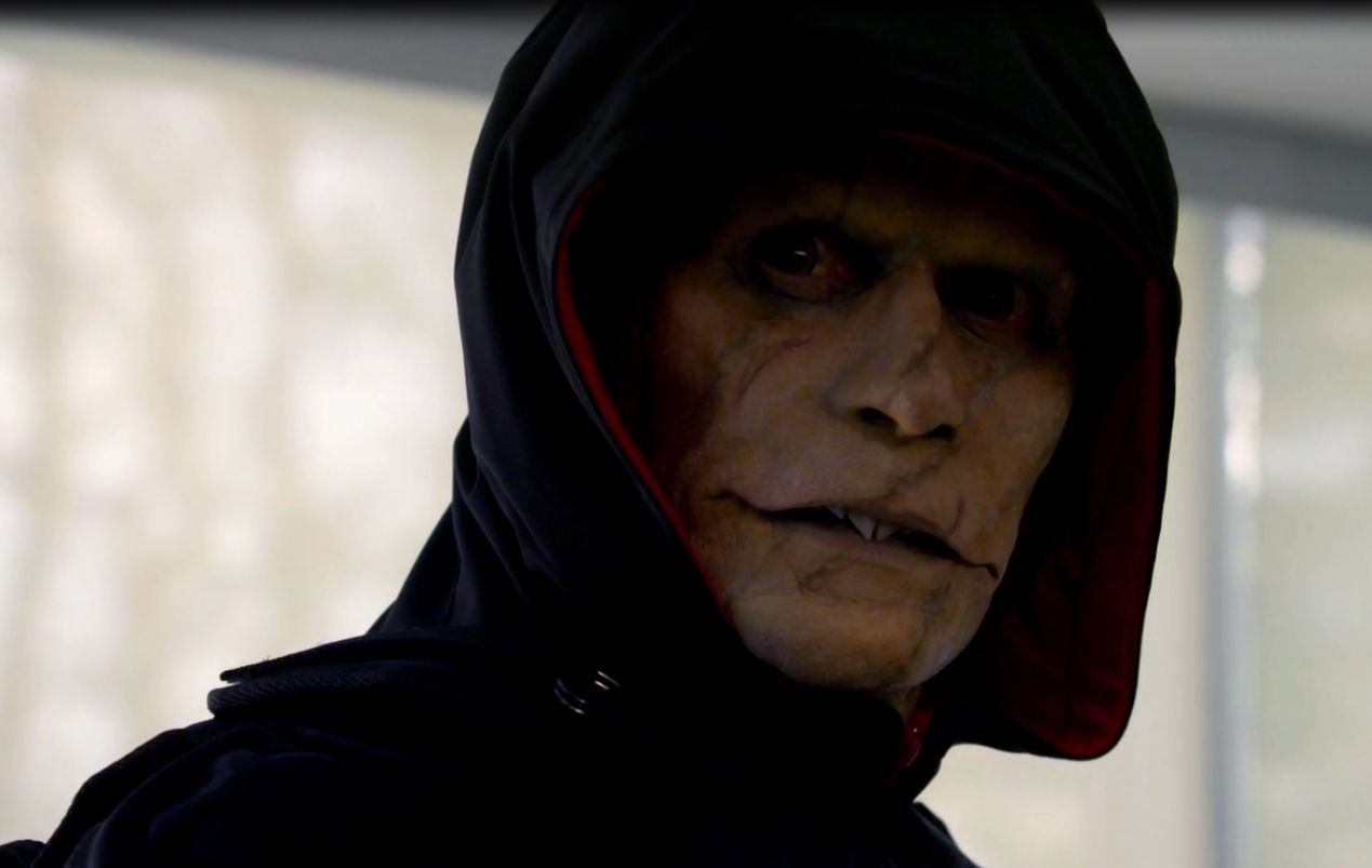 Quilan, the vampire hunting vampires in The Strain