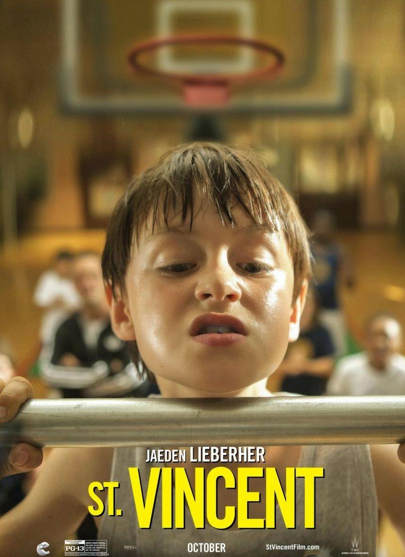 Jaeden Lieberher as Oliver character poster - St. Vincent