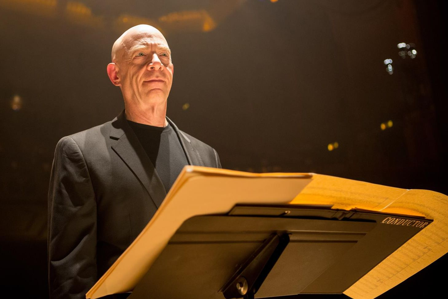 J.K. Simmons as evil conductor Terence Fletcher
