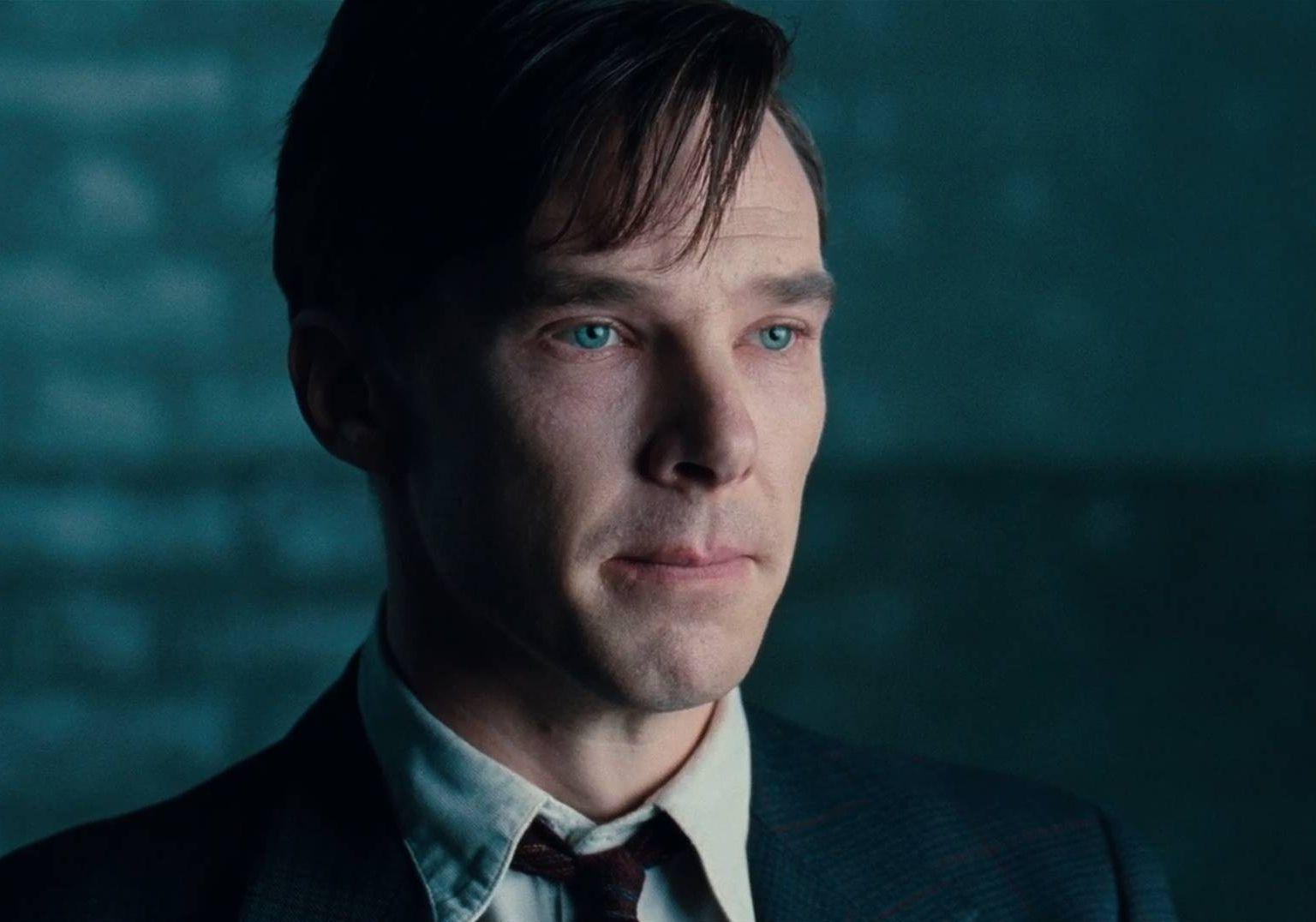 Cumberbatch looking pale