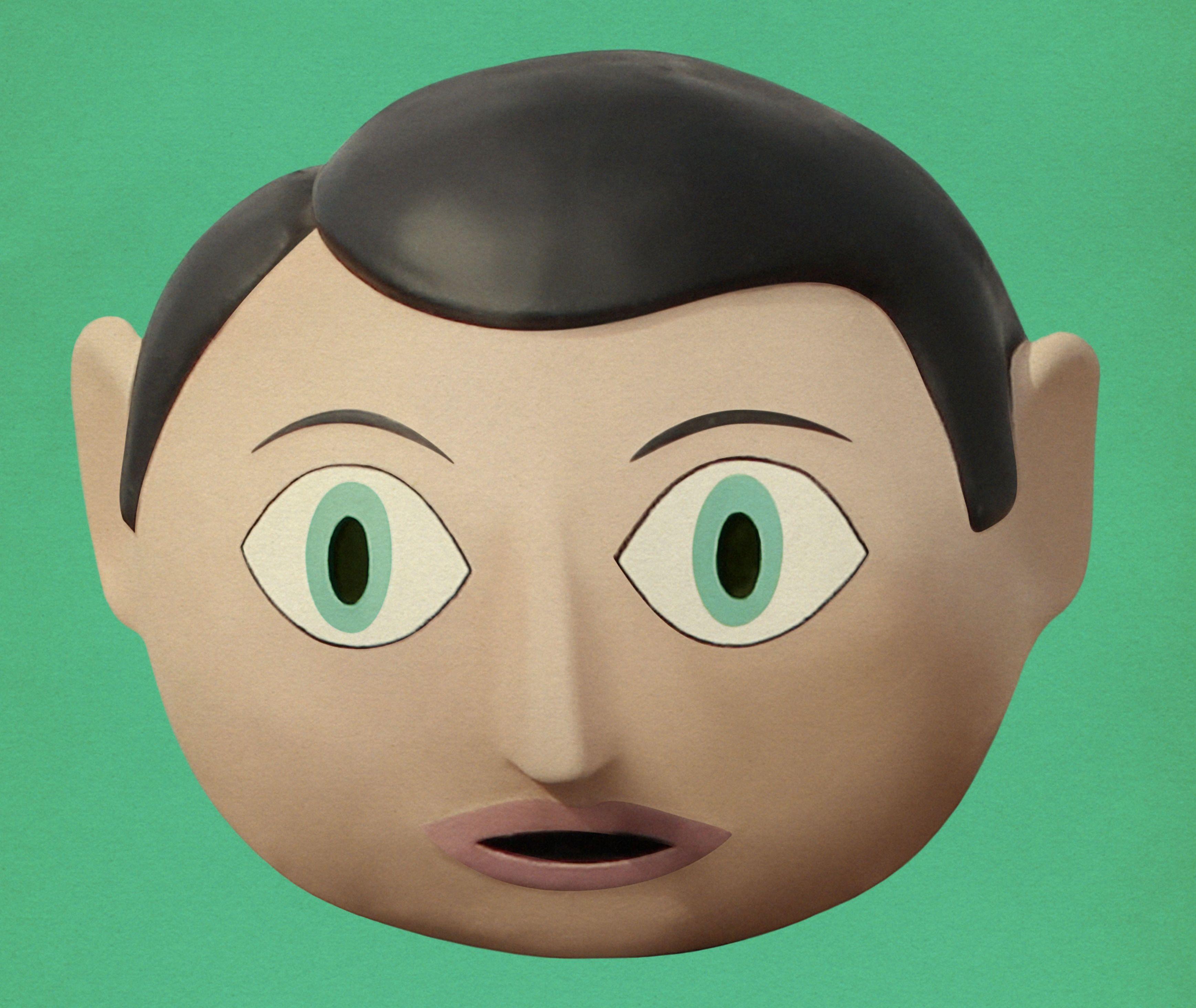 Frank head detail