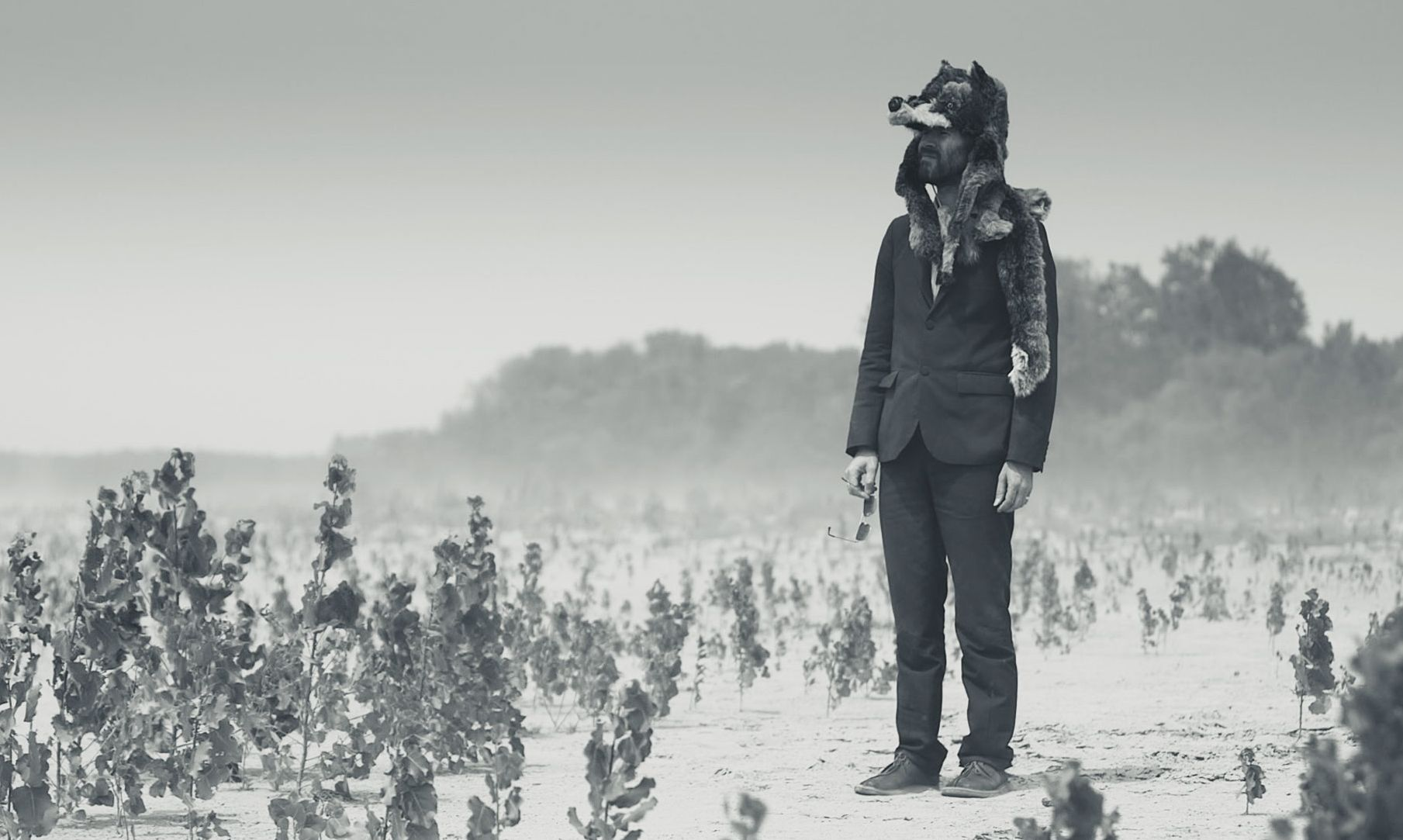 Gruff Rhys black-and-white American Interior