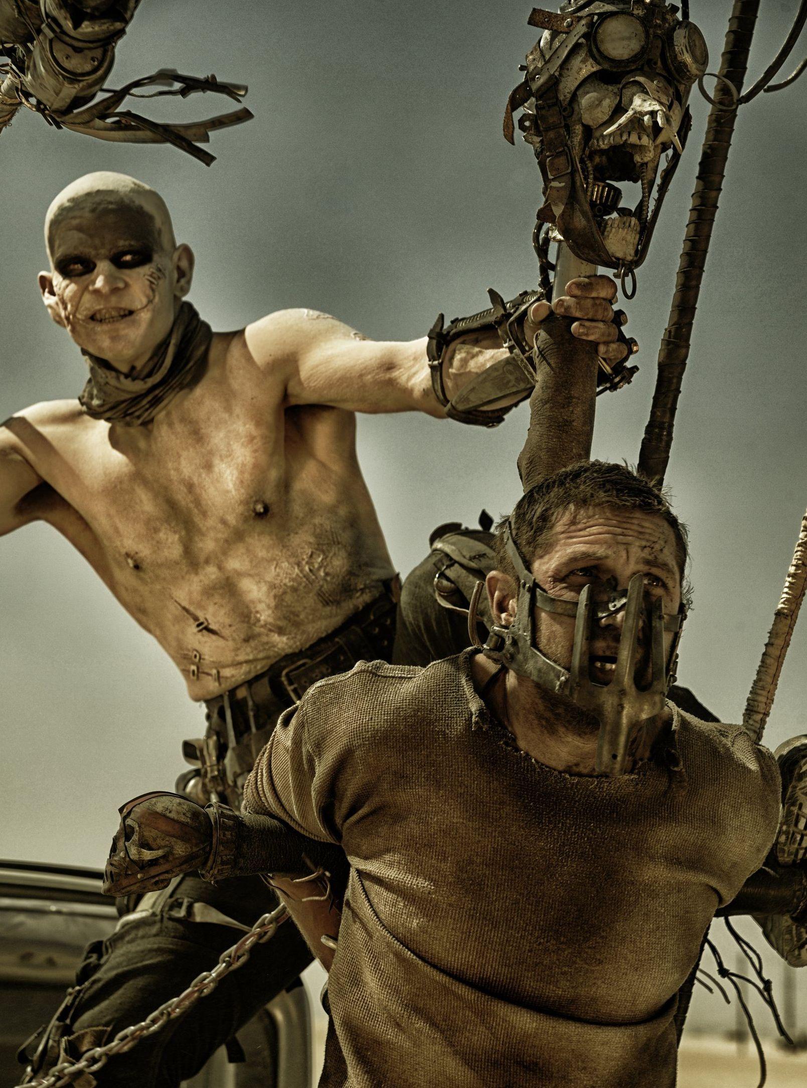 Masked Max Rockatansky Tom Hardy in Mad Max: Fury Road