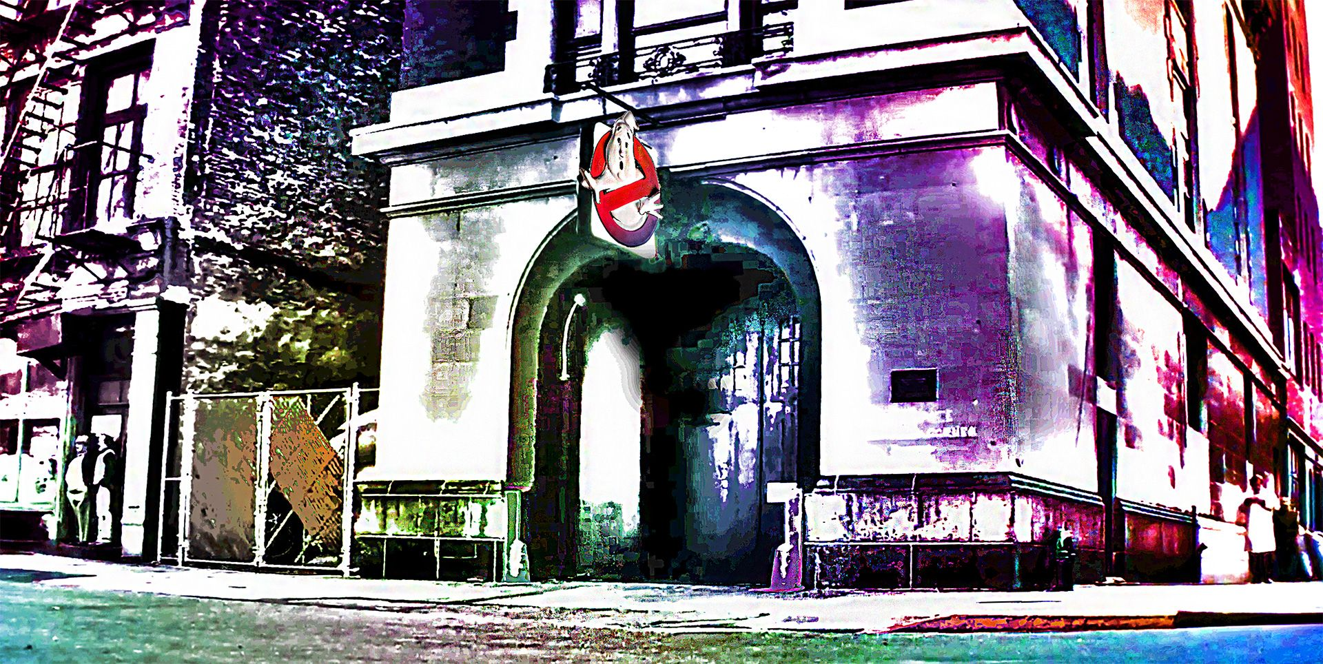 Ghostbusters HQ art