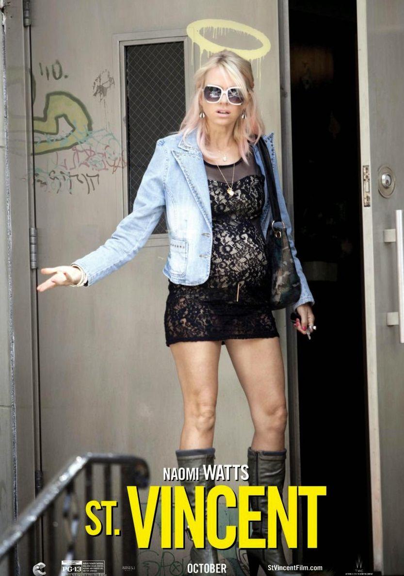 Naomi Watts as Daka character poster - St. Vincent