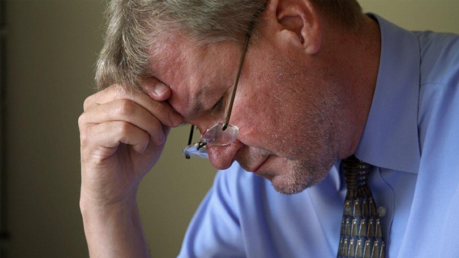 Pastor Jay Reinke feels the pressures
