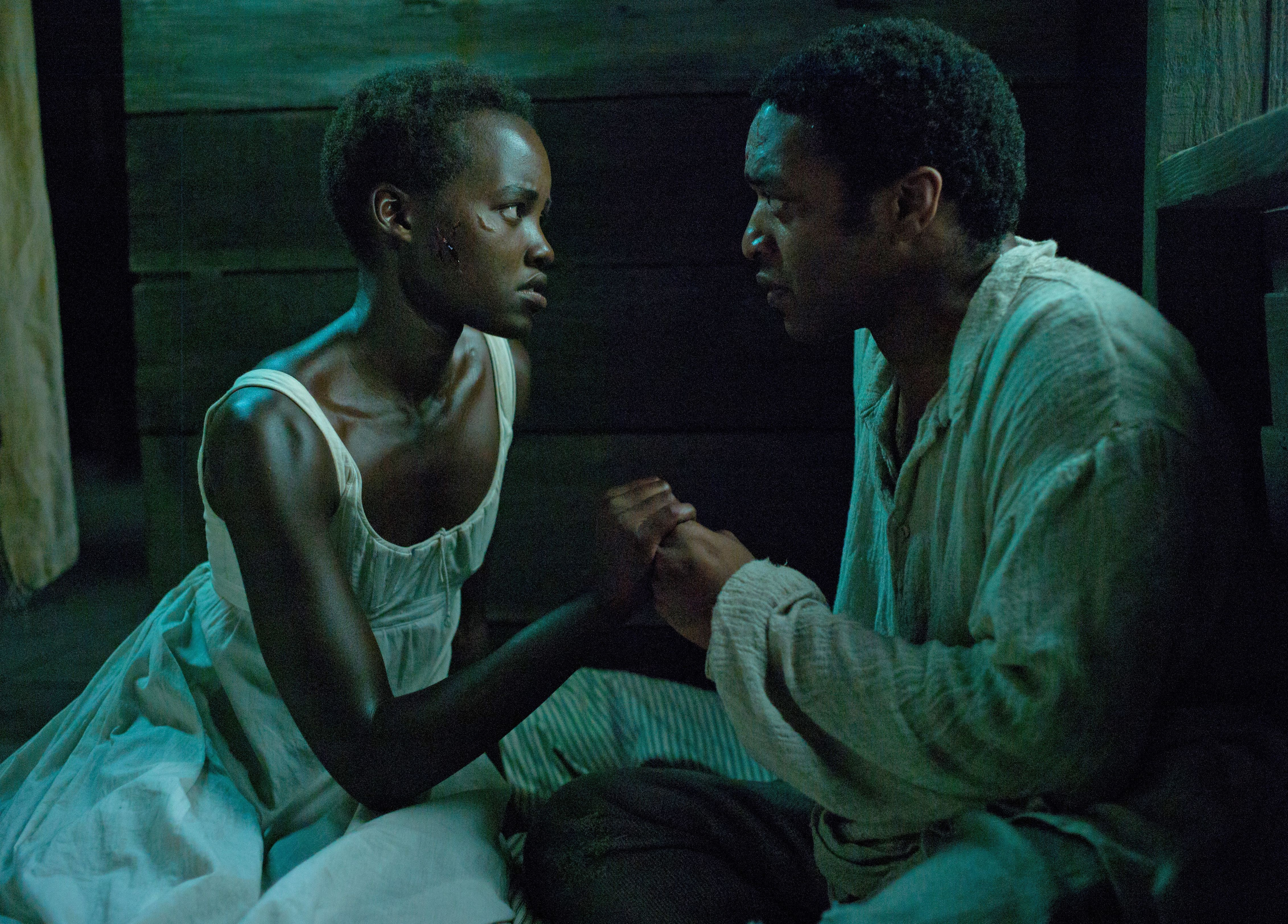 Lupita Nyong'o and Chiwetel Ejiofor having a moment in 12 Ye