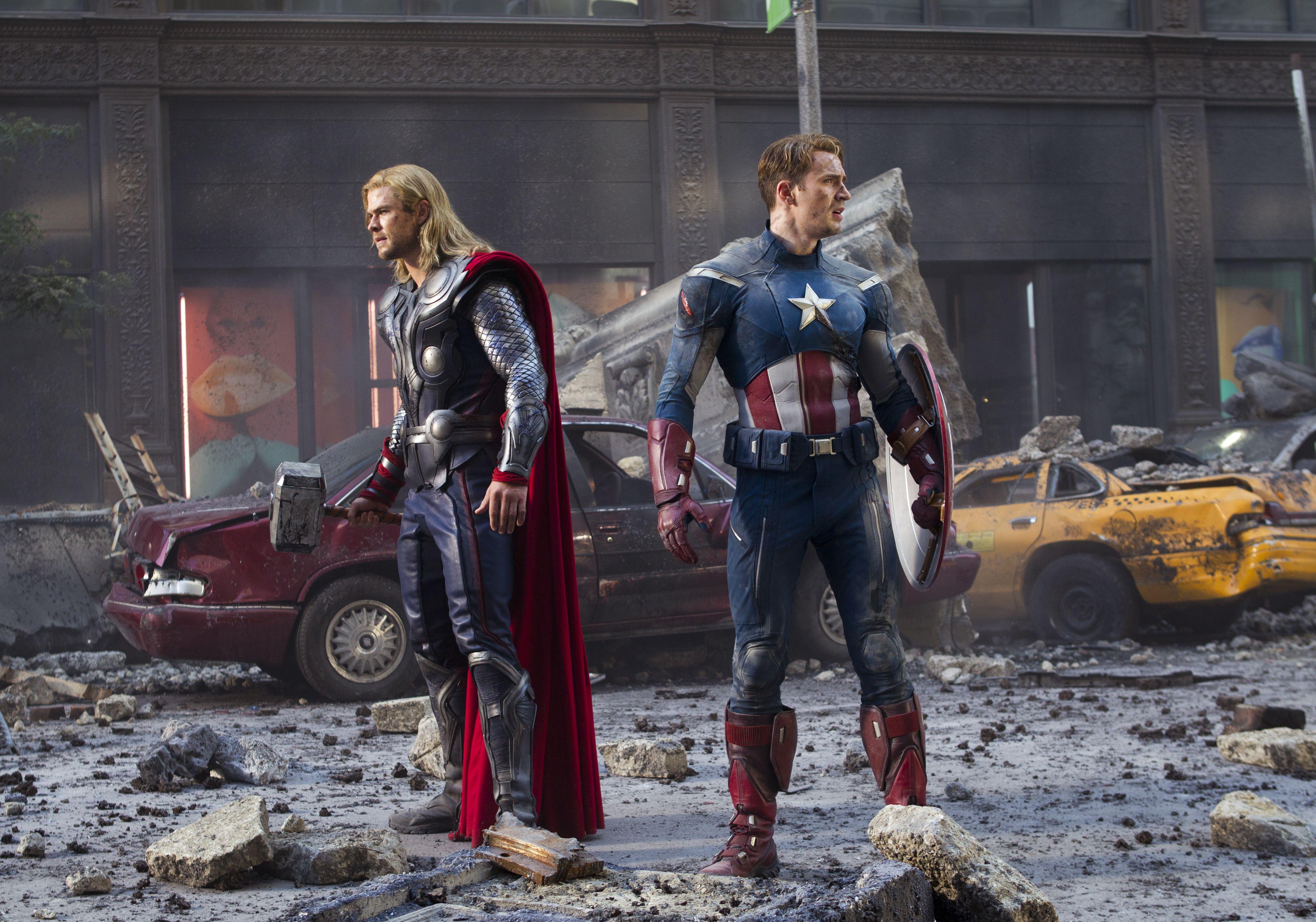 Avengers Worldwide Gross