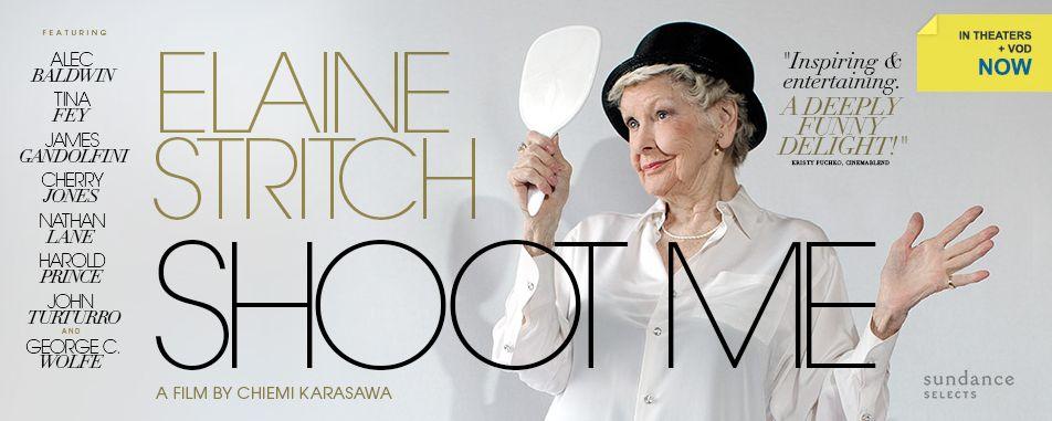 Elaine Stritch: Shoot Me banner