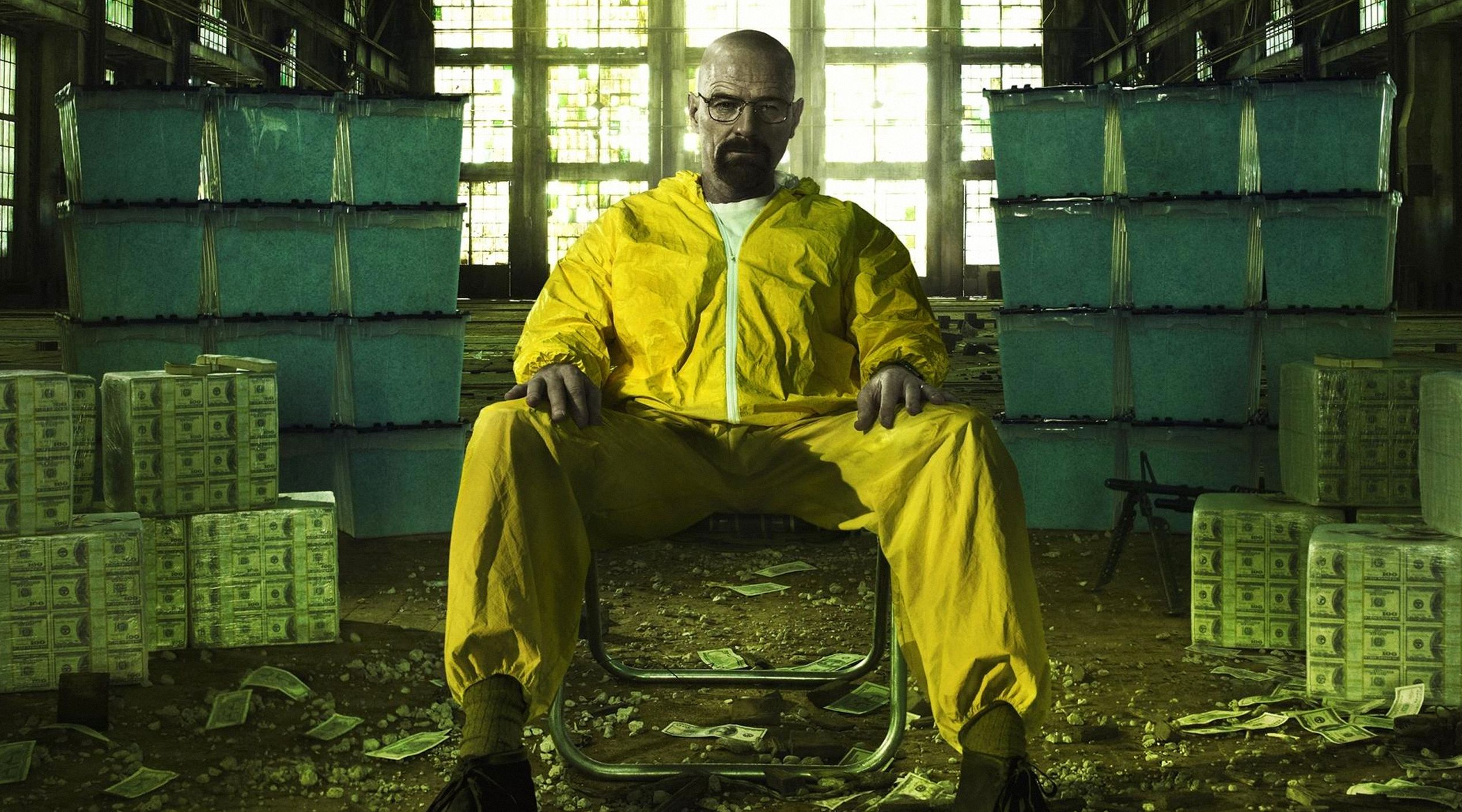 Walter White, money and drugs