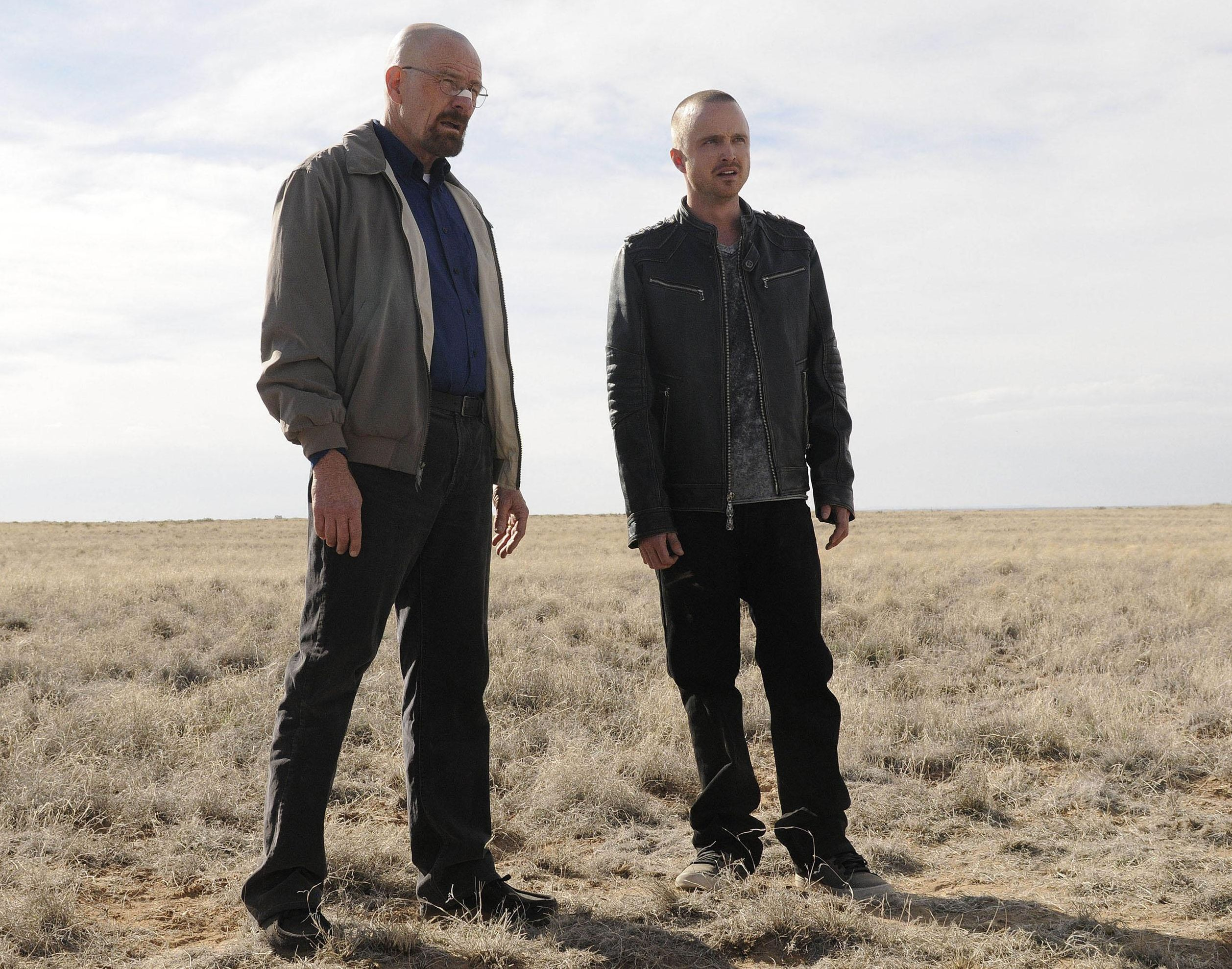 Jesse and Walter have a meeting in Breaking Bad