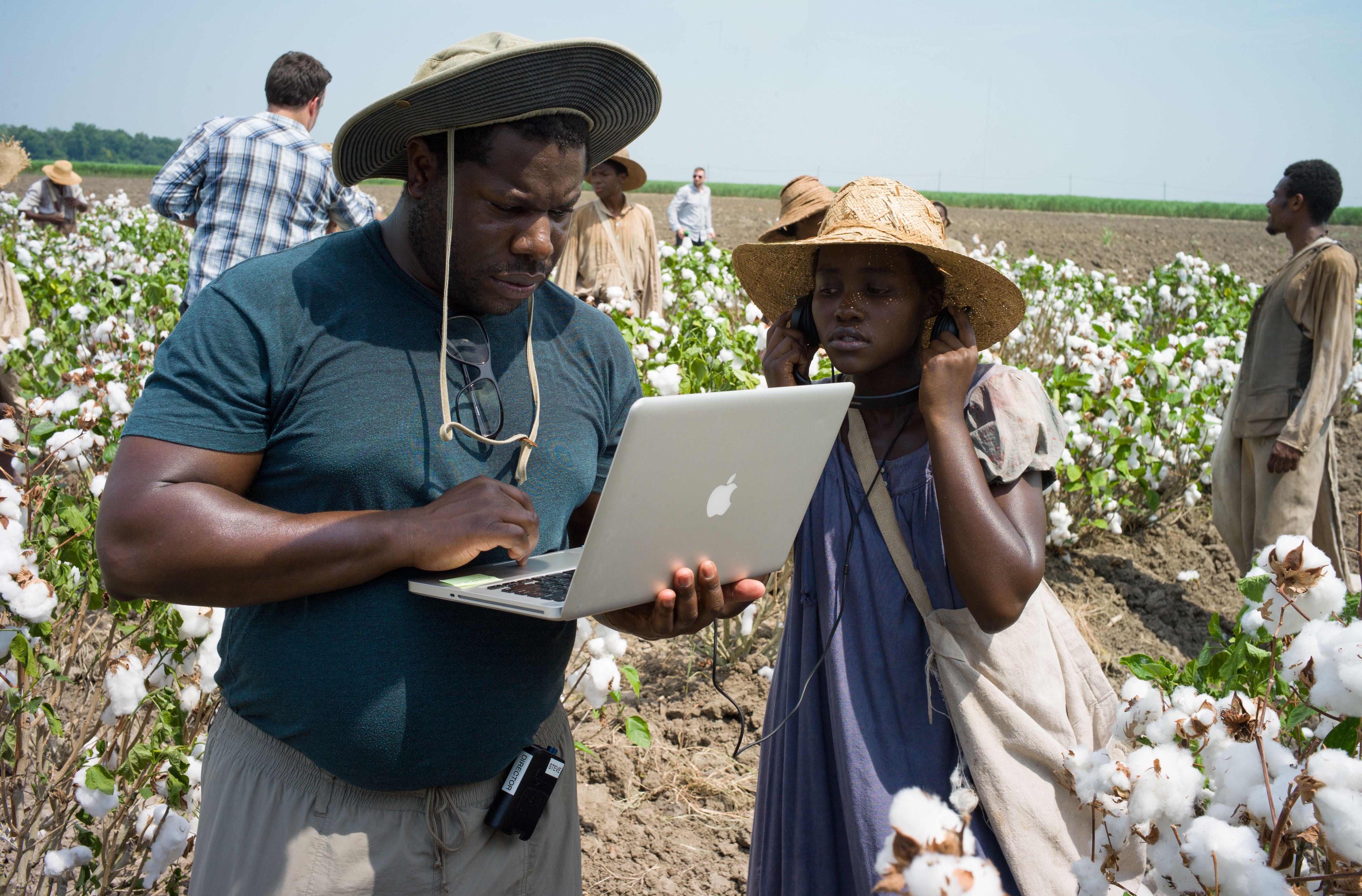 Steve McQueen behind the scenes 12 Years A Slave