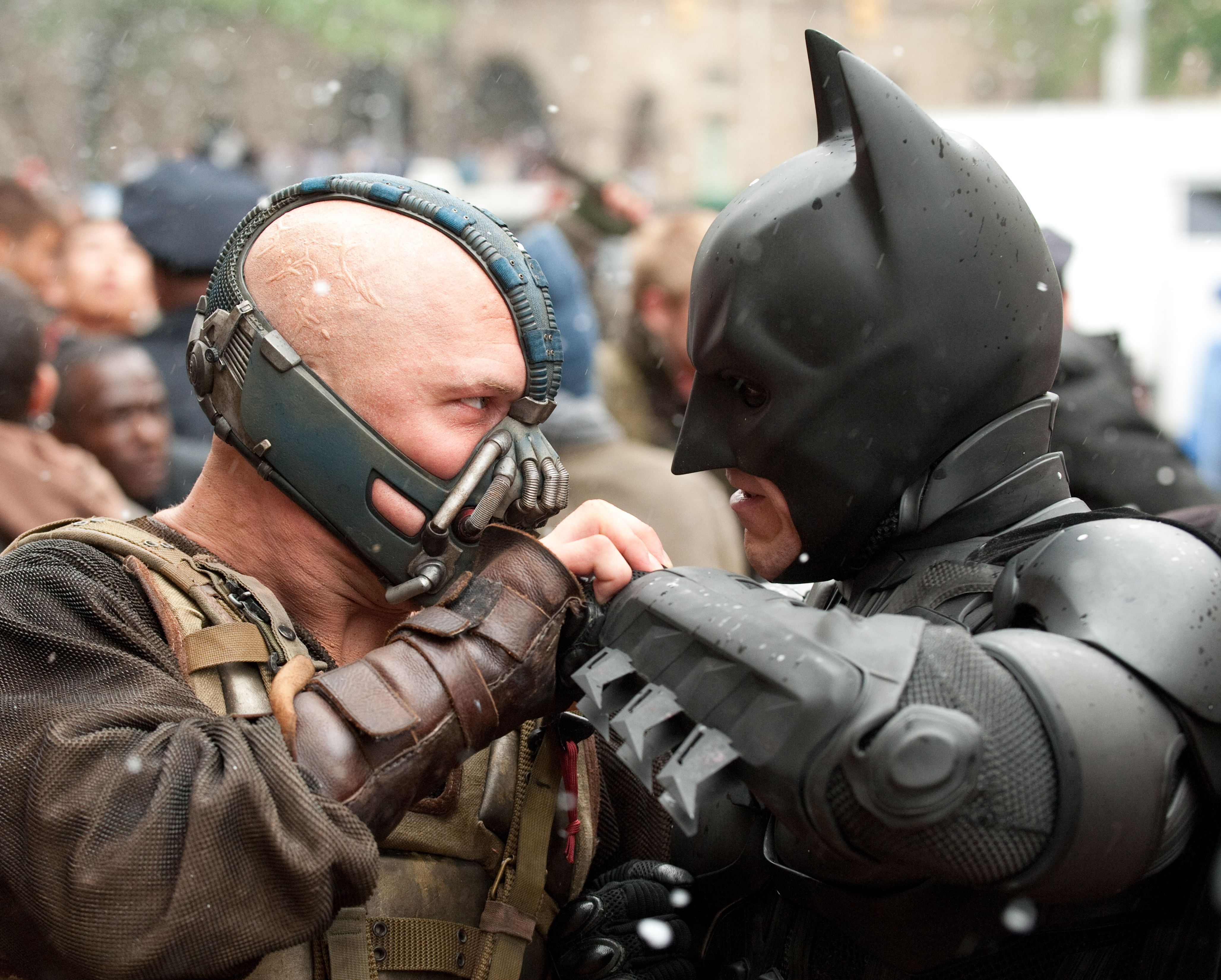 Batman and Bane one-on-one fight