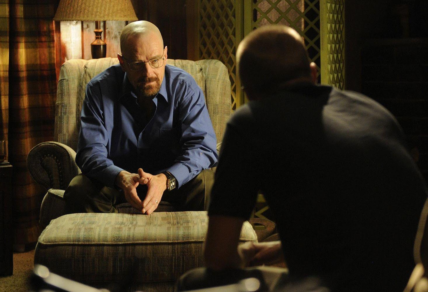Walter White manipulating Jesse
