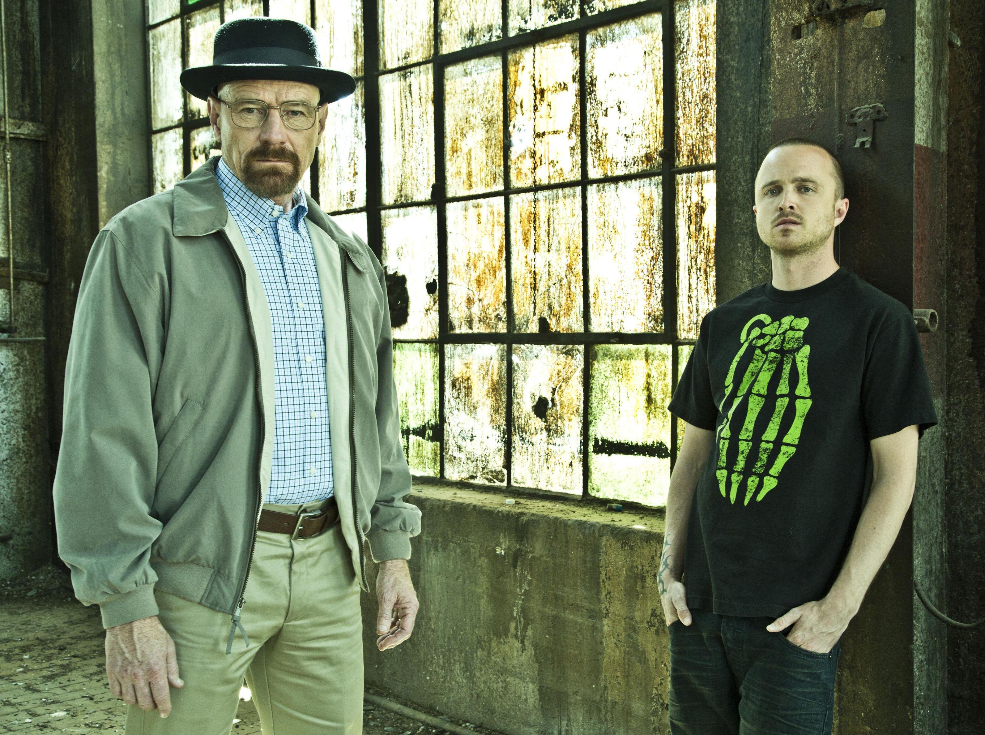 Pinkman and Heisenberg