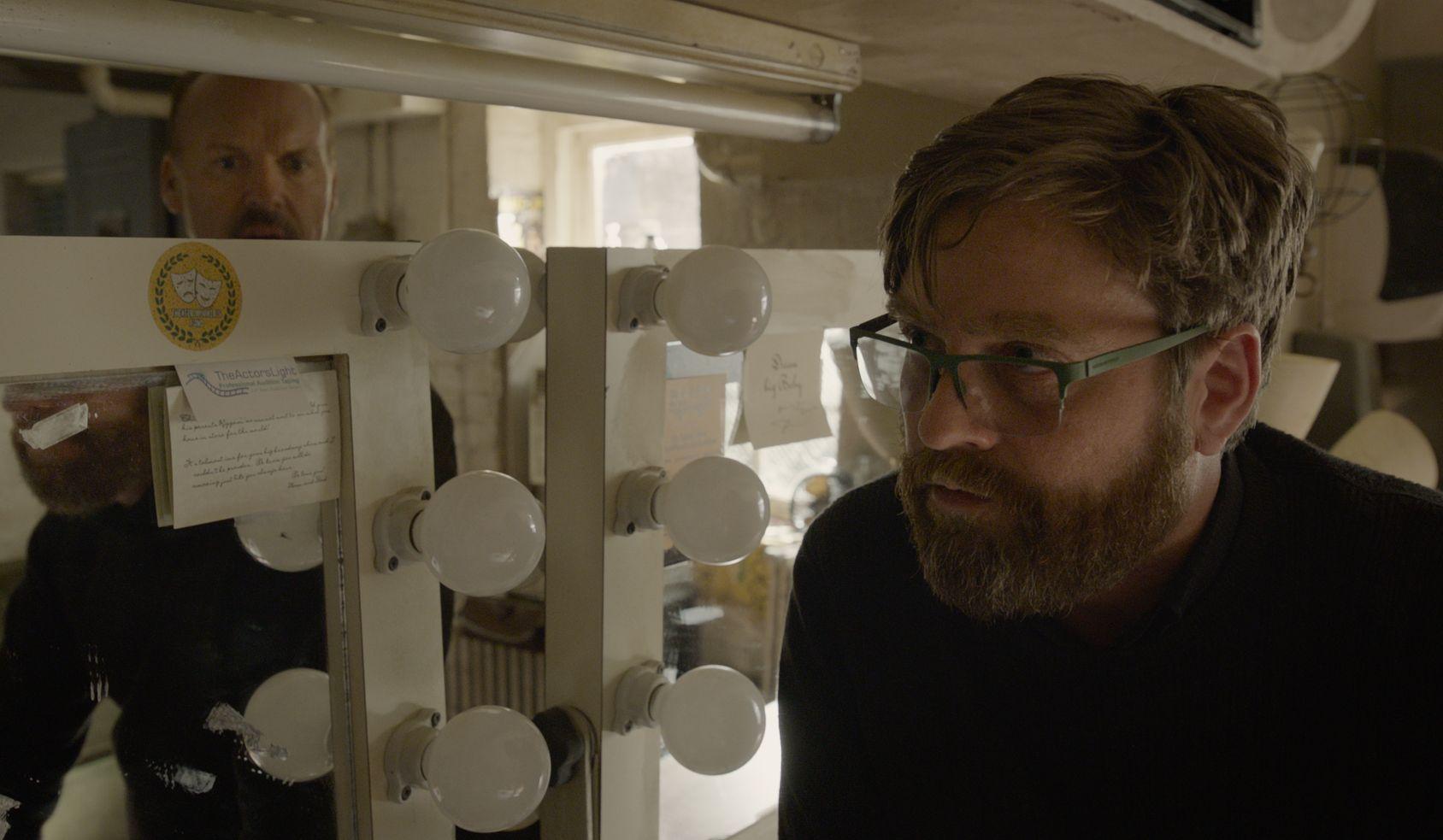 Zach Galifianakis glasses - Birdman