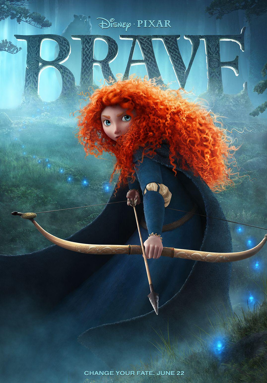 Disney Pixar Brave poster - Merida