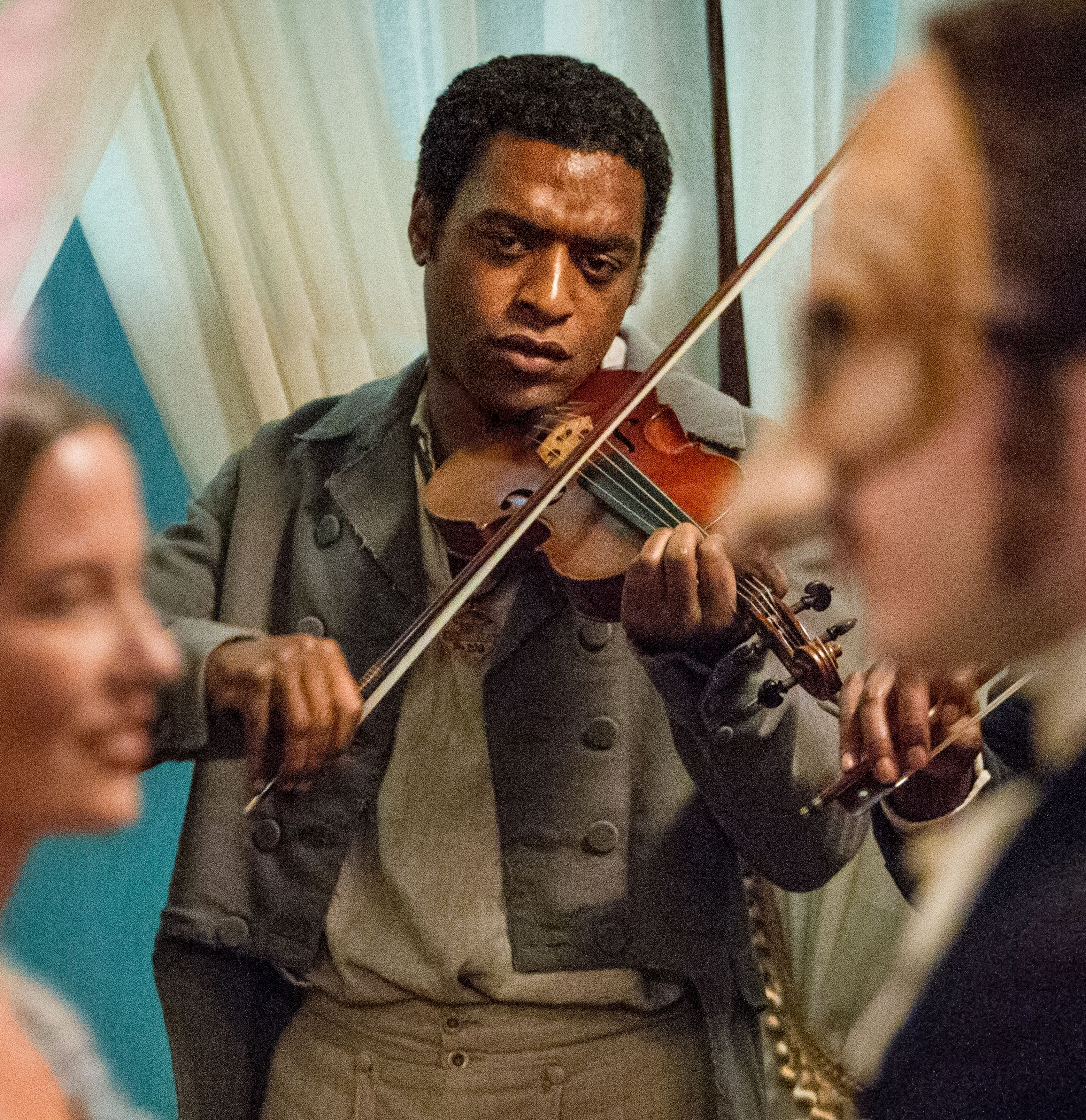 Solomon Northup playing his violin