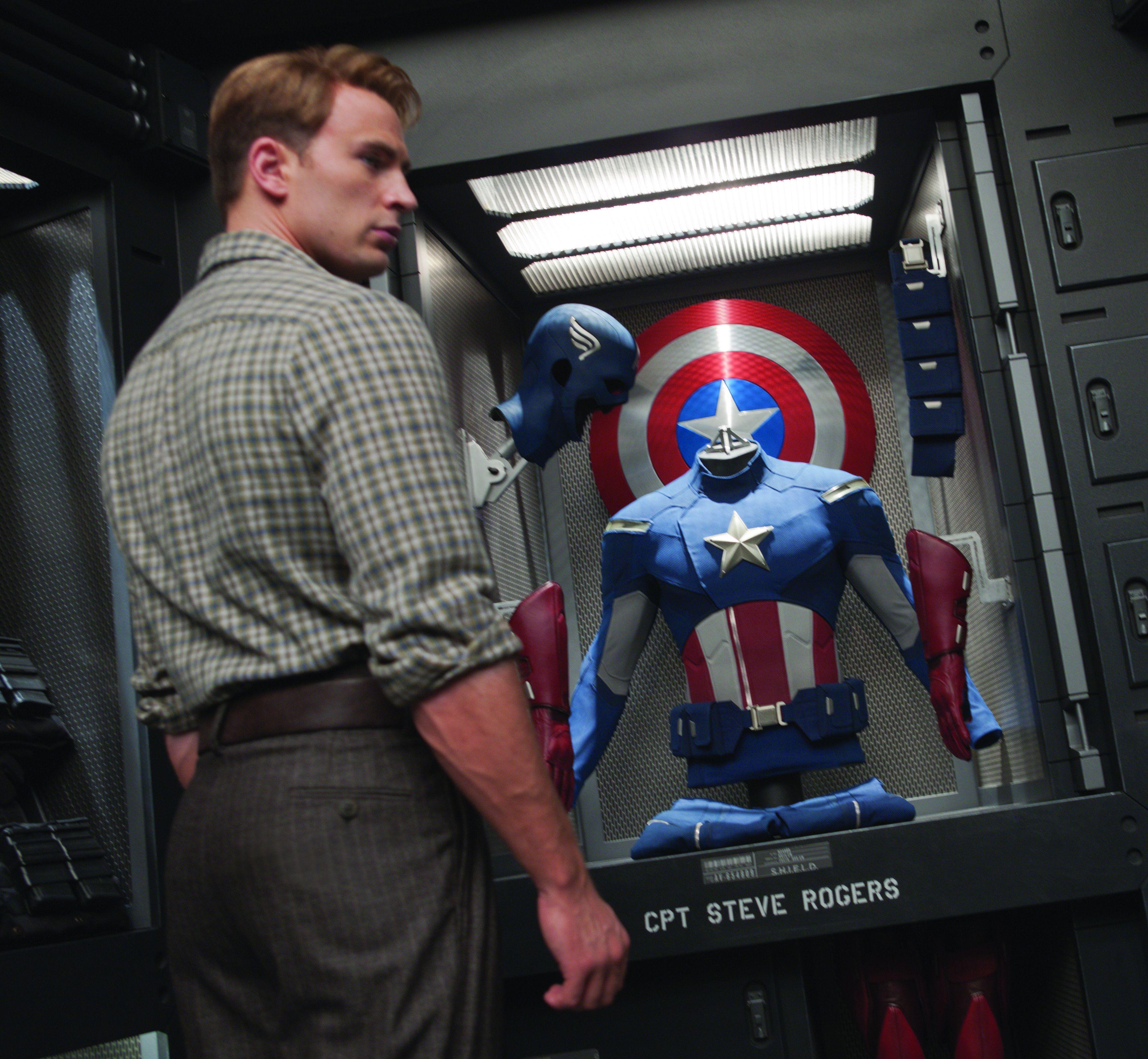 CPT Steve Rogers in The Avengers