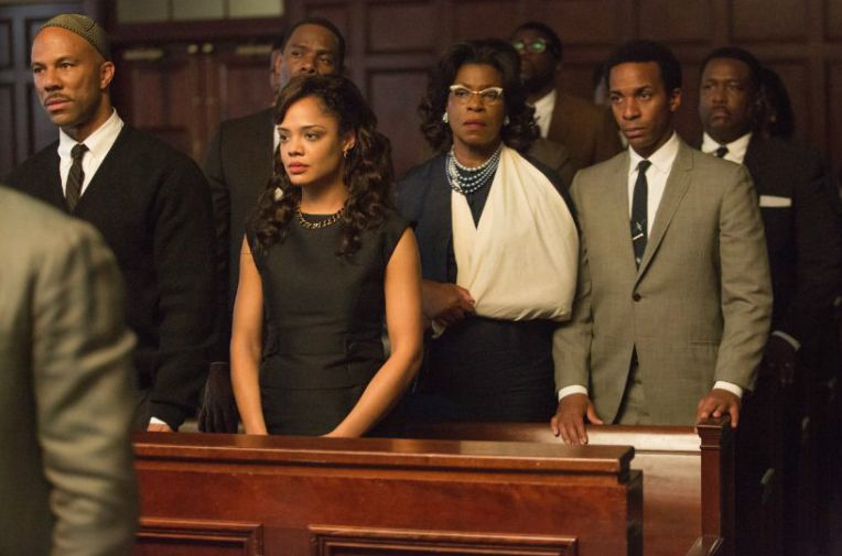 The cast of Selma